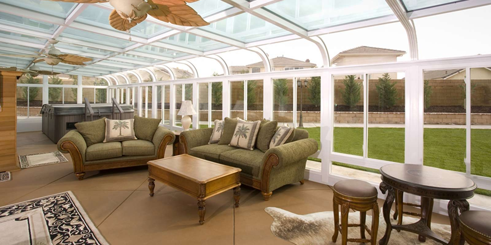 Sunroom  Conservatory  All Season Room  CThru Sunrooms