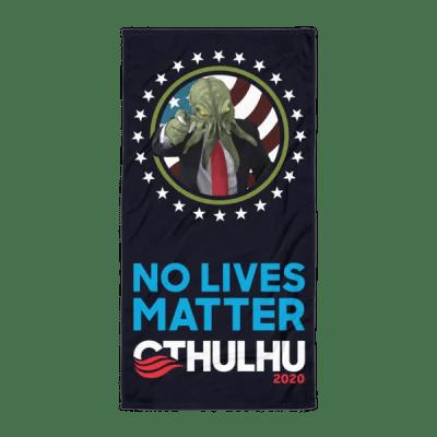 No Lives Matter Beach Blanket