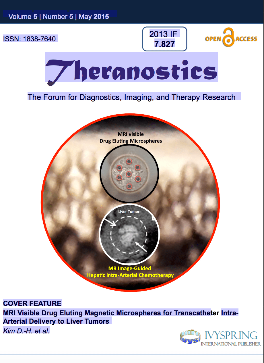 Cover feature of May Theranostics Journal  CTI