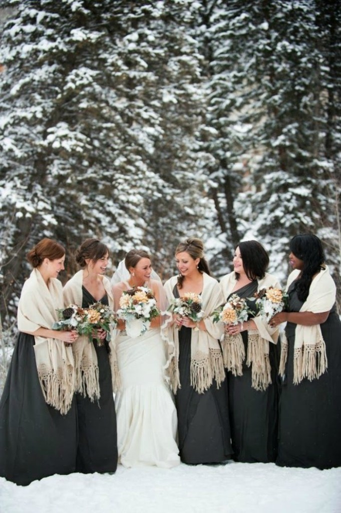 Bride and Bridesmaids sized