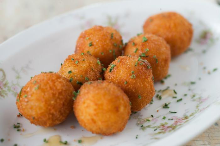Black Truffle Risotto Balls