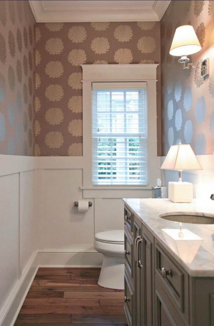 The most beautiful powder rooms ever connecticut in style - What is a powder room ...