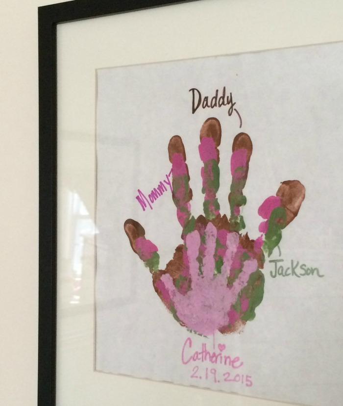 Handprint Art final image