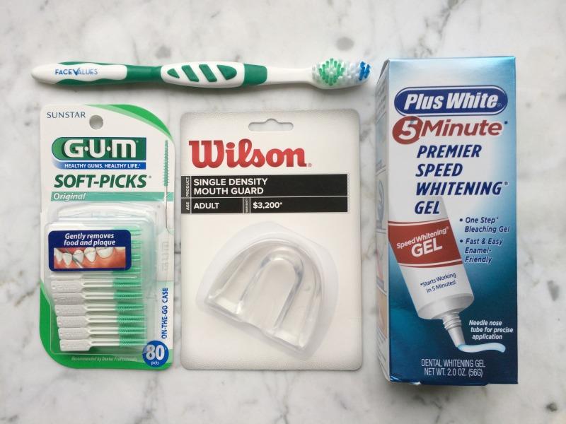 Dazzling teeth supplies
