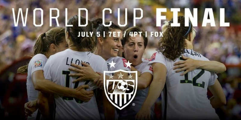 FIFA World Cup Final #shebelieves