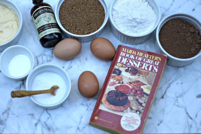 Chocolate Muffin Top ingredients