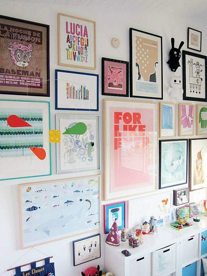 Children Room Gallery Wall