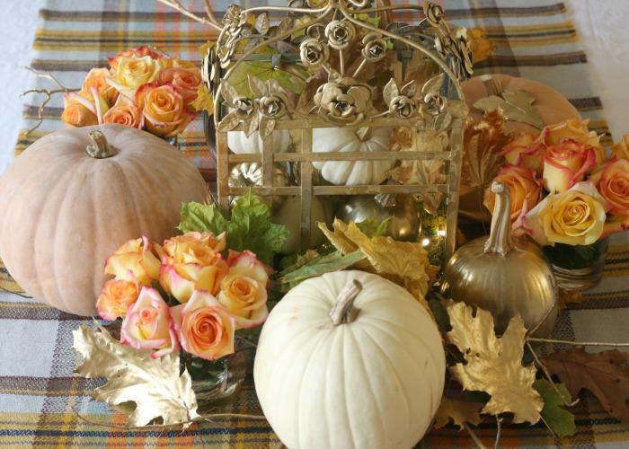 Thanksgiving Table Centerpiece 1