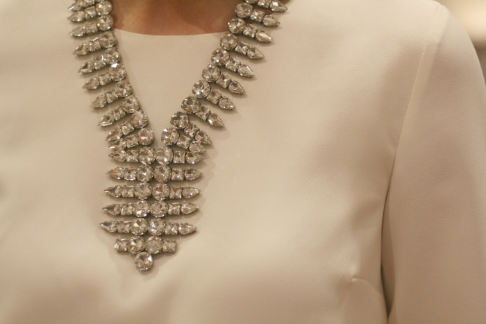 Necklace detail