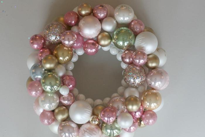 Sparkly Ornament Wreath
