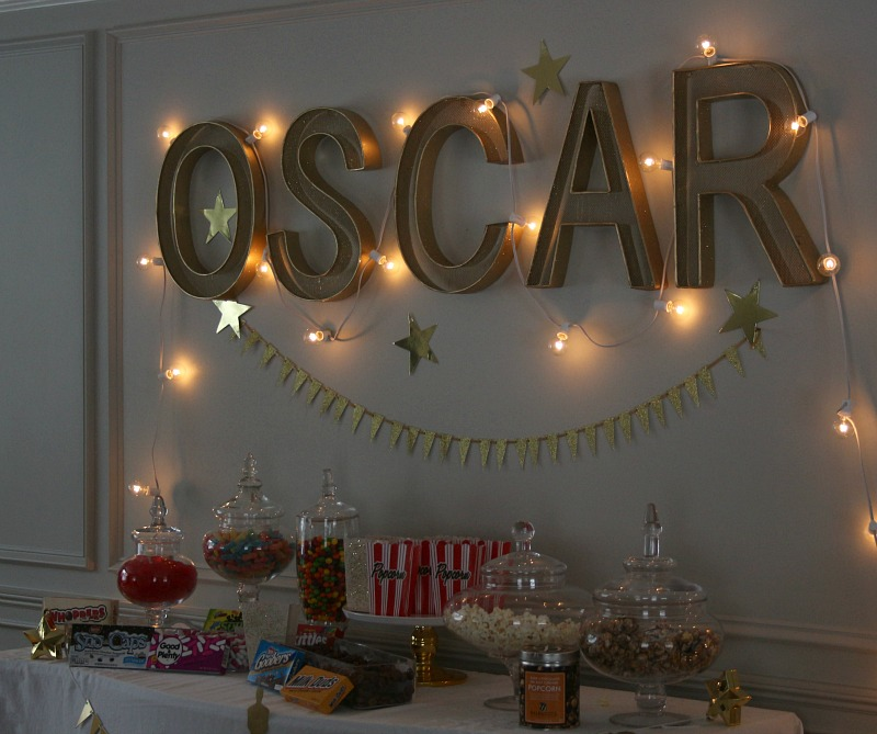 Candy Bar for the Oscars