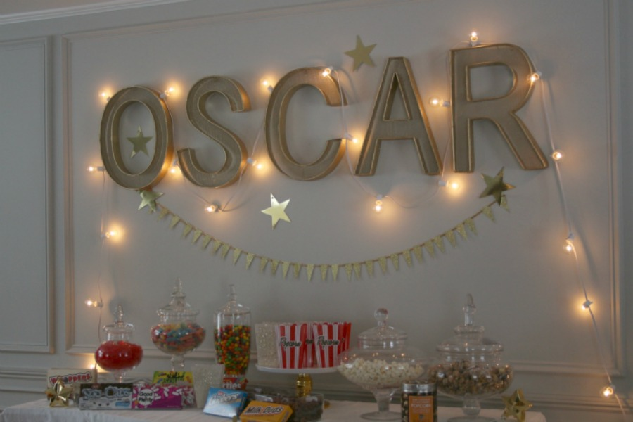 Elegant Oscar Party Ideas