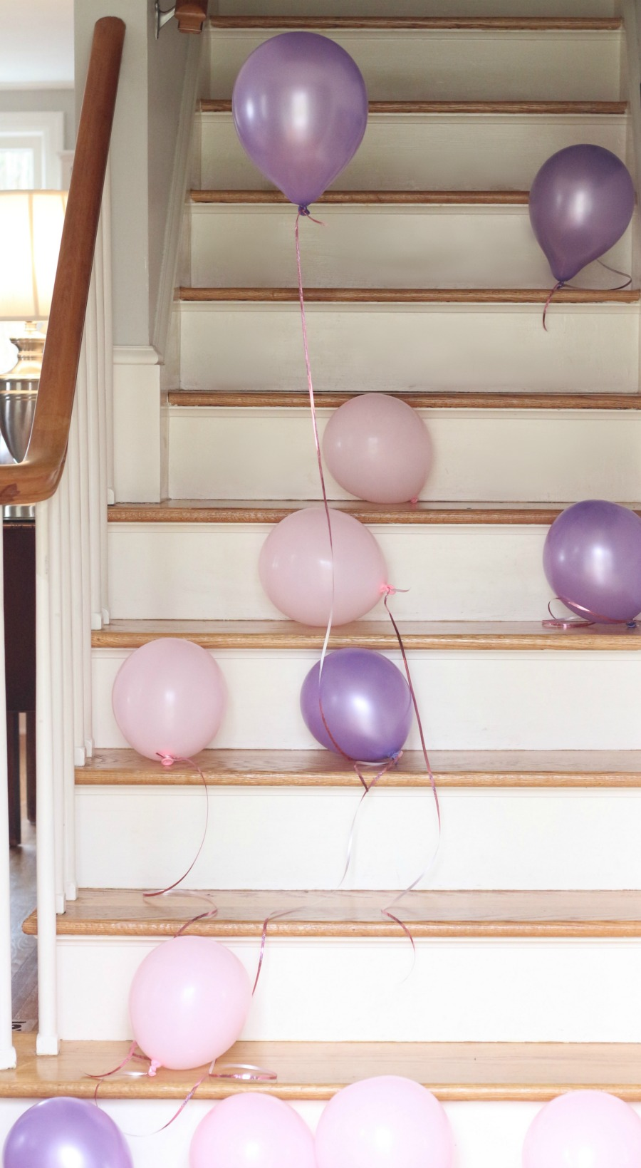 Purple and Pink Ballooons