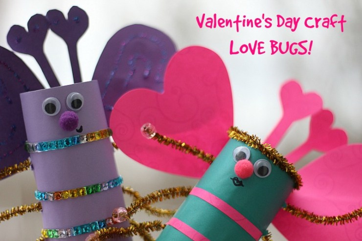 Valentine's Day Craft Love Bugs
