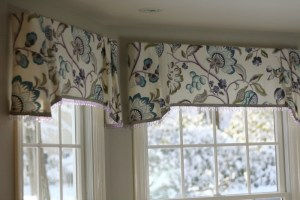 old Window seat valances