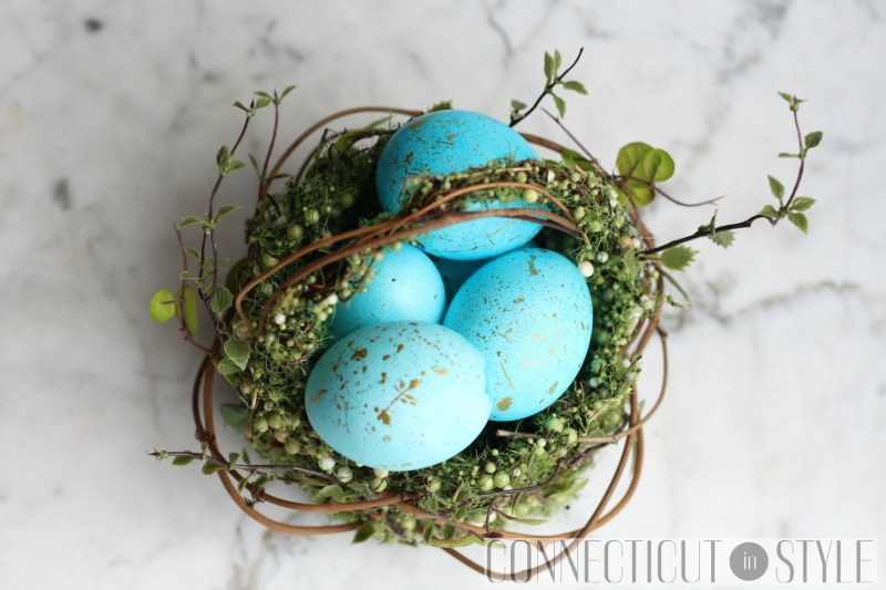 Gold Speckled Easter Eggs