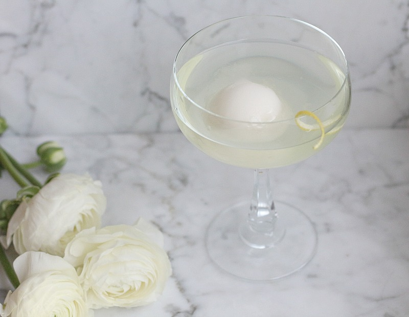 Lemon Drop Martini with a twist