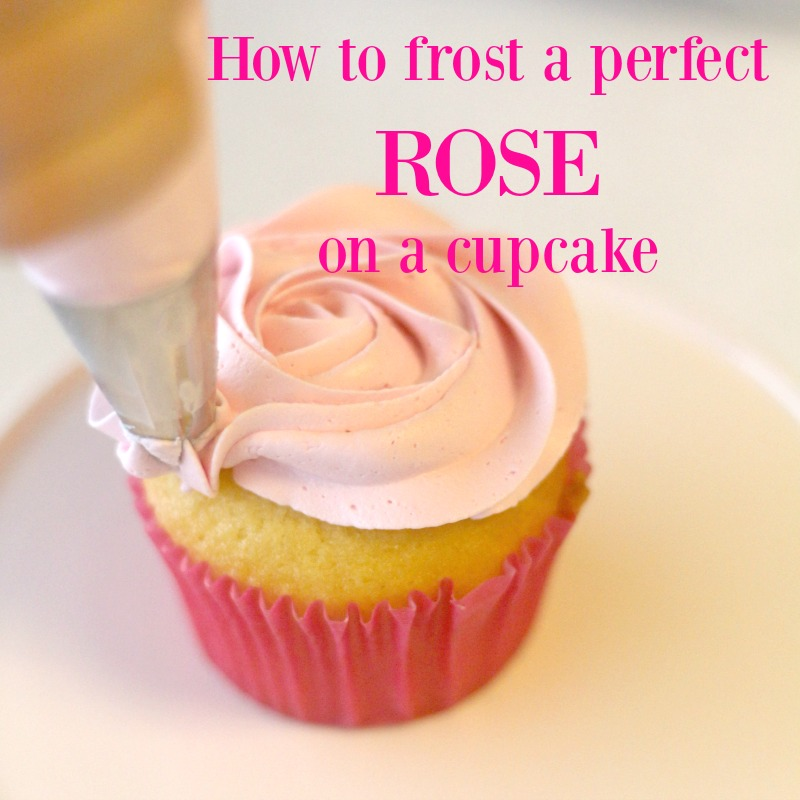 Pinterest How to frost a perfect buttercream rose