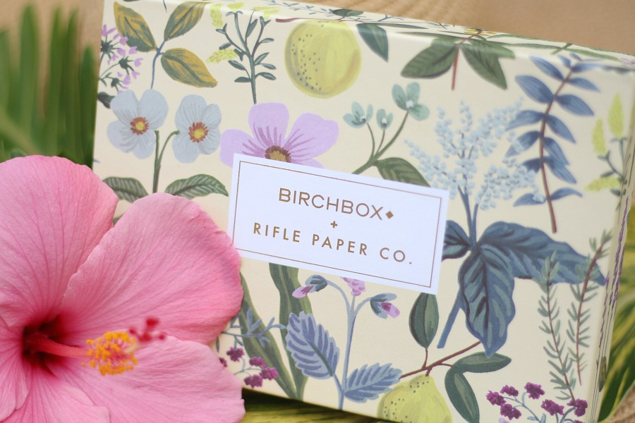 April 2016 Birchbox image