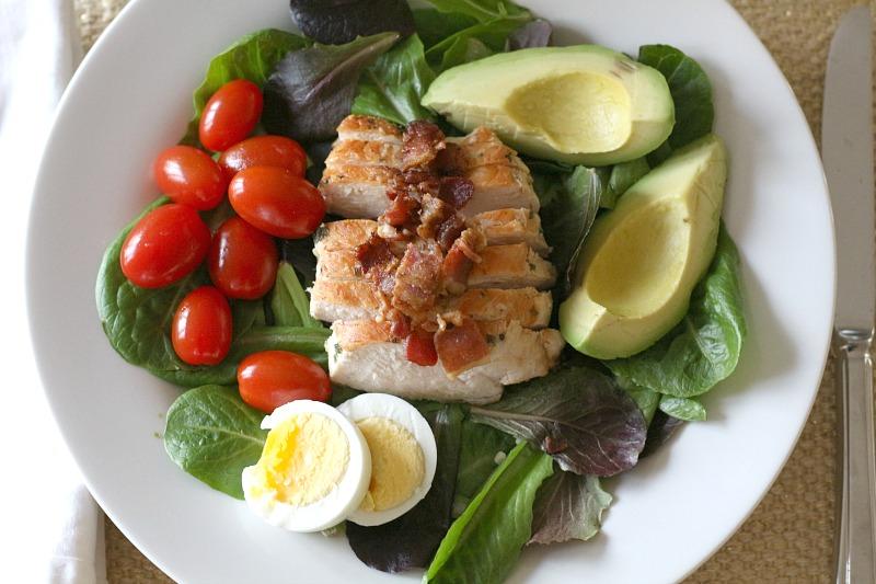 Cobb Salad Lunch Image