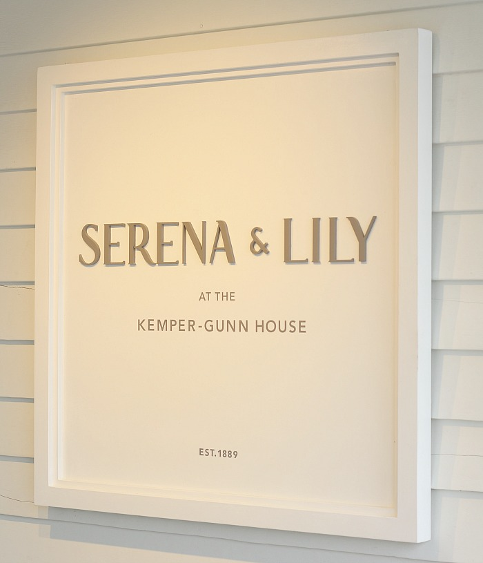 Serena & Lily Sign