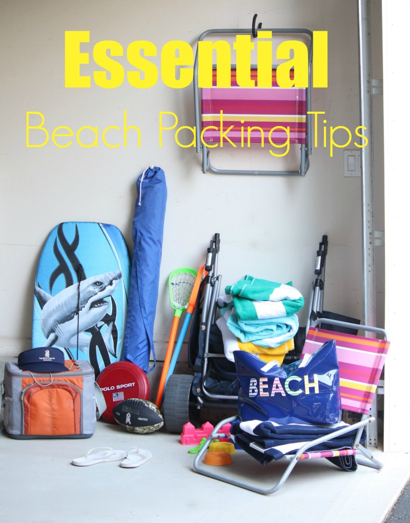 Essential Beach Packing Tips 1