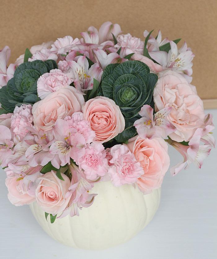 pumpkin-flower-vase
