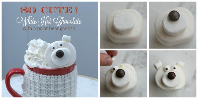 DIY Marshmallow Polar Bear
