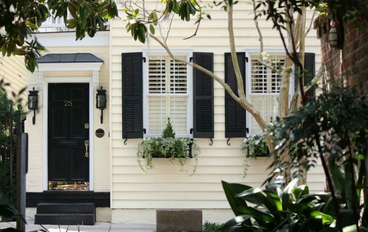 Flowering Window Boxes of Charleston