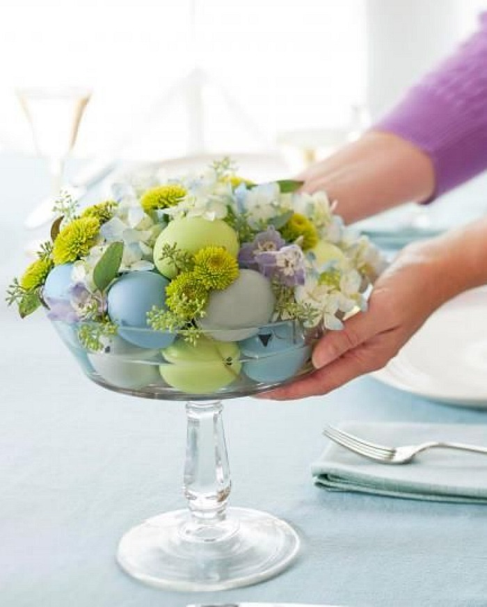 Easy and elegant easter table connecticut in style for Elegant easter table decorations