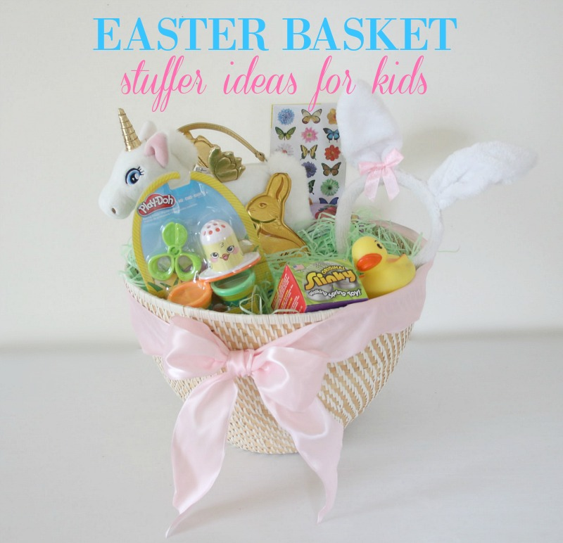 Easter Basket Stuffer Ideas for Kid