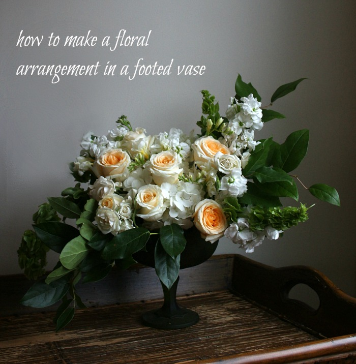 how to make floral arrangements