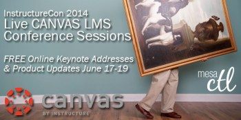 Live FREE streaming sessions from InstructureCon 2014