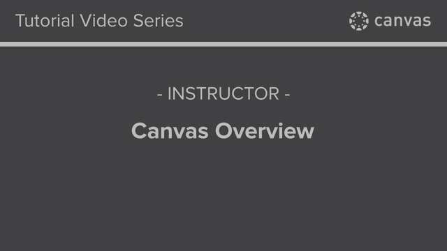 Canvas New UI Overview Video