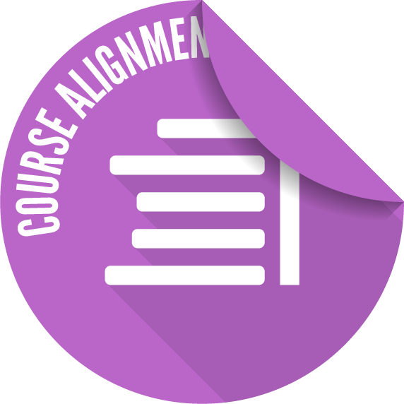 Unusable MCC Course Alignment badge