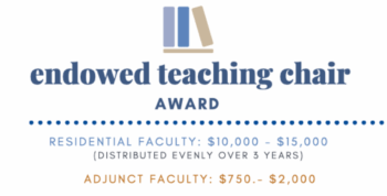 Endow Teaching Chair Award