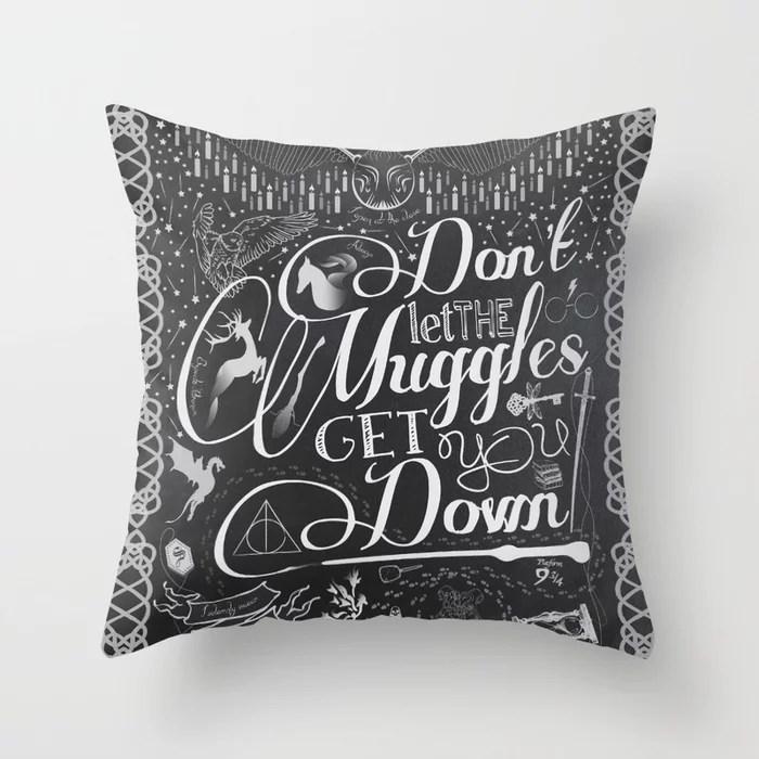 Don't Let Muggles Pillow