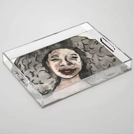 Smile Acrylic Tray