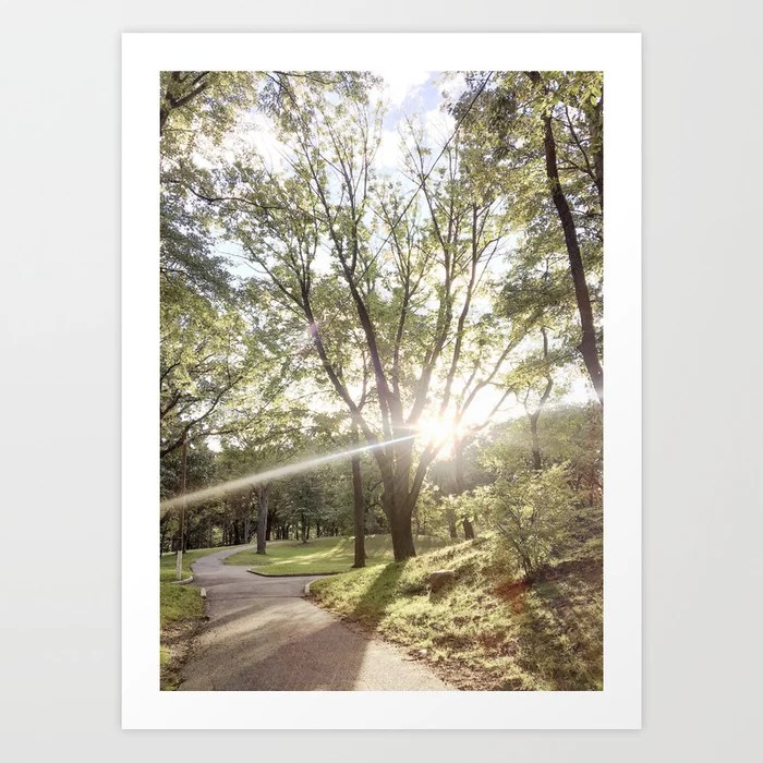 Golden Hour II Art Print | Dreamery Events || Society6