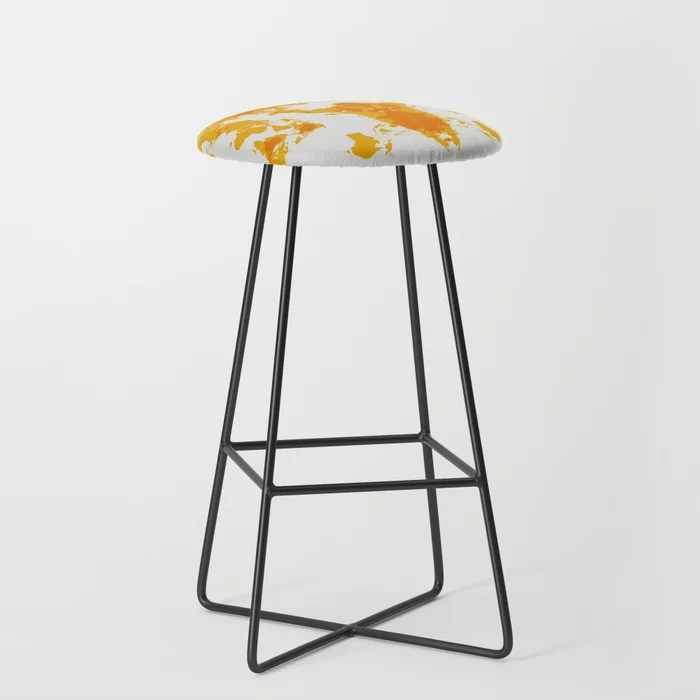 Carcass Of The World Bar Stool By Lucianocaggianello Society6