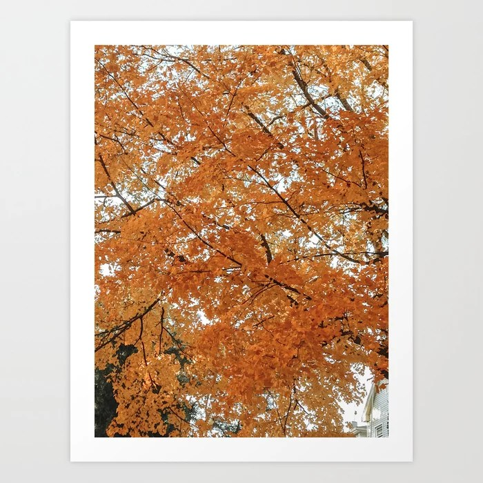 """Autumn Leaves"" Art Print 