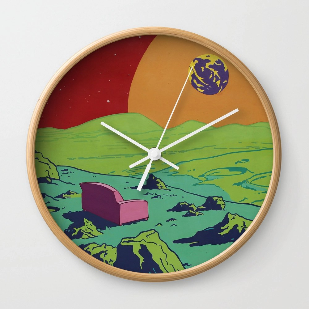 Couch Wall Clock by em3ricadam