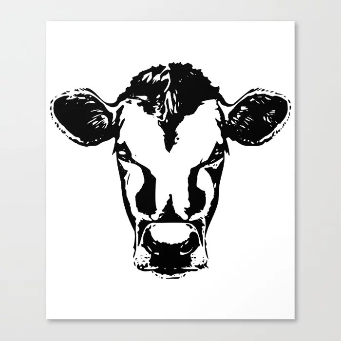 Download Cow face svg for cricut silhouette decals yeti cup Farm ...