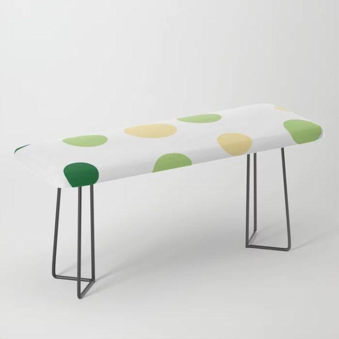 Green Pop Bench