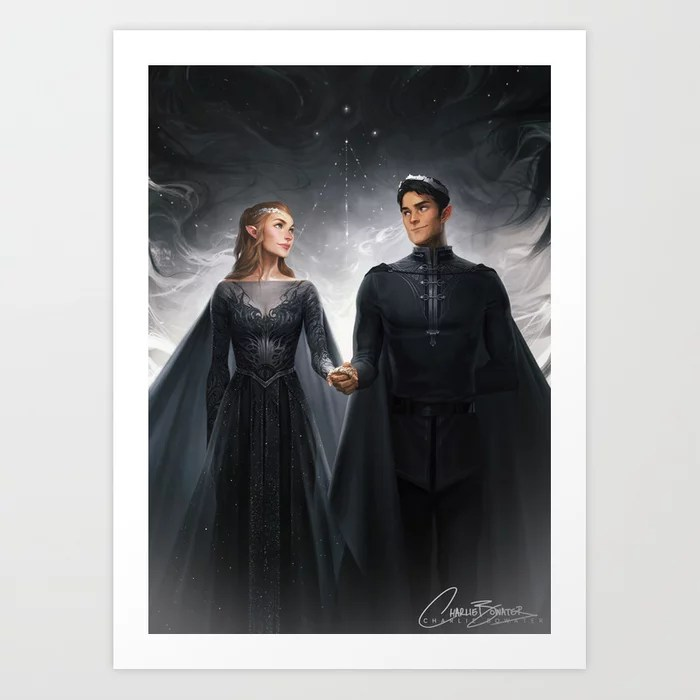 Charlie Bowater Court of Dreams Print