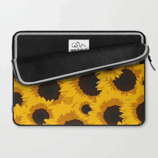 Sunflower Love Laptop Sleeve