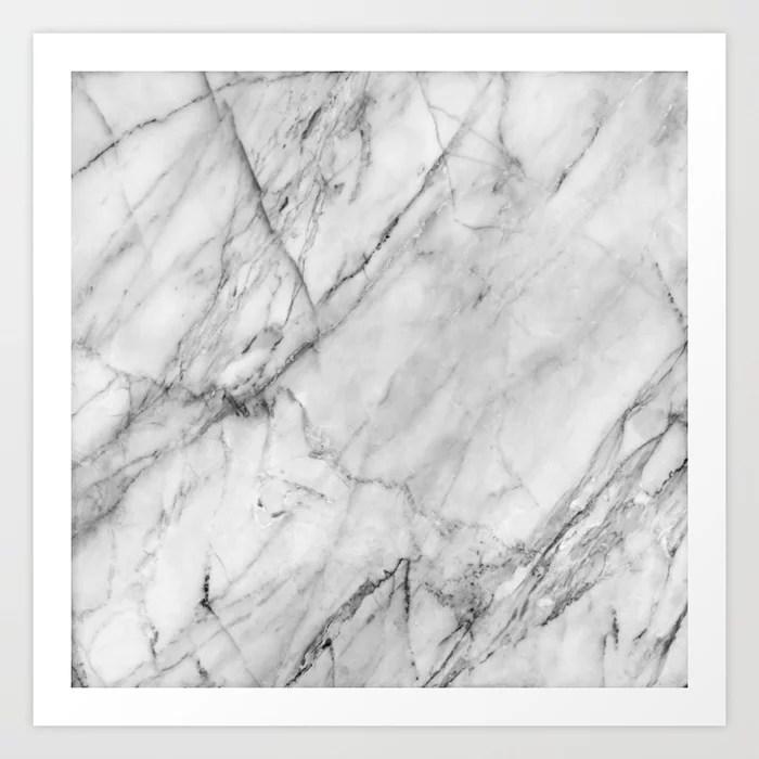Sunday's Society6 | Marble texture art print