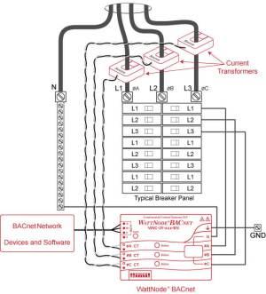WattNode BAC Installation – Continental Control Systems, LLC