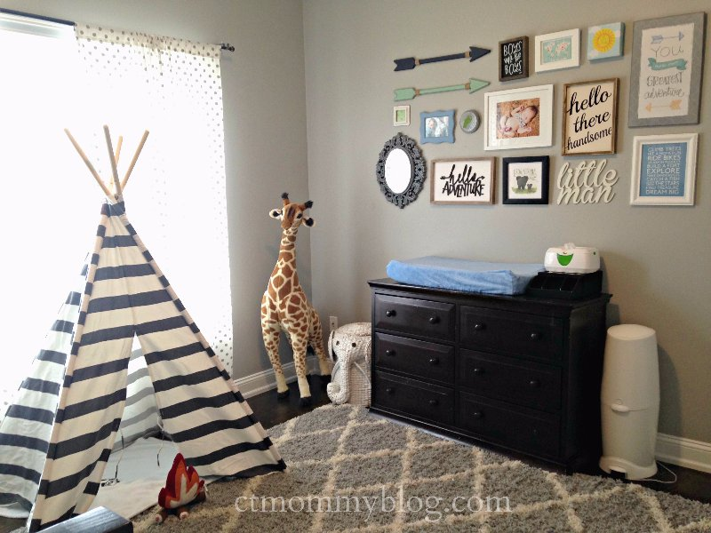 Adventure Themed Toddler Room  CT Mommy Blog