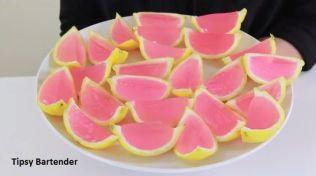 Pink Lemonade Vodka Jello Shots